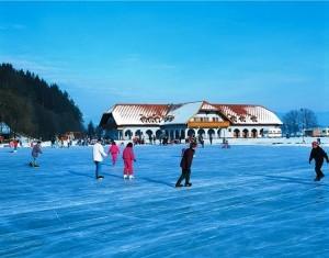 Eislaufen in der Region Klopeiner See/ Südkärnten